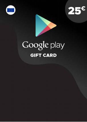 25€ Google Play