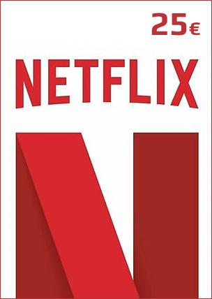 25€ Netflix