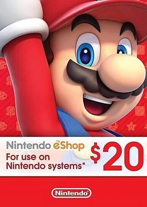 20$ Nintendo eShop