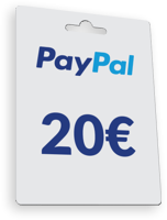 20€ PayPal