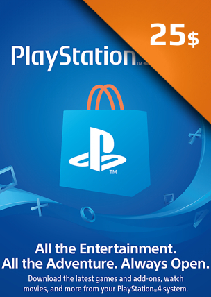 25$ PlayStation Network