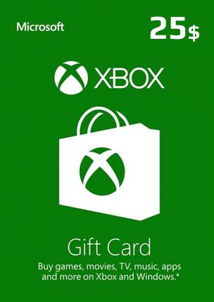 25$ Xbox Live